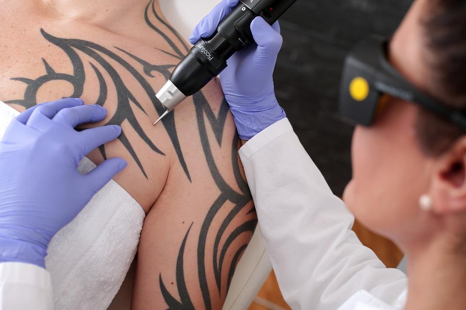 Dove preferiscono tatuarsi i maschi?